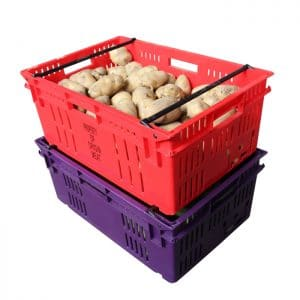 Plastic Crates for fruits and vegetables