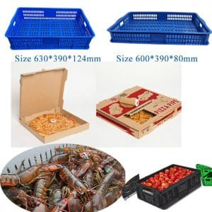 small vegetable crates